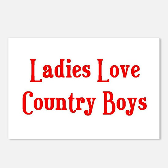 Country Boys Postcards (Package of 8)