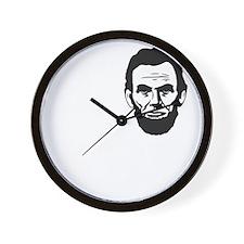 I-love-ABE-W Wall Clock