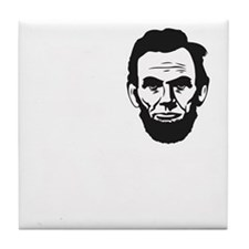 I-love-ABE-W Tile Coaster