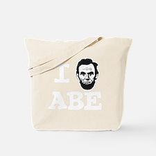 I-love-ABE-W Tote Bag
