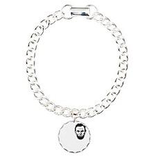 I-love-ABE-W Charm Bracelet, One Charm