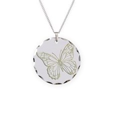 embossedbutterfly Necklace