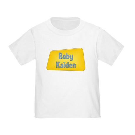 Baby Kaiden Toddler T-Shirt