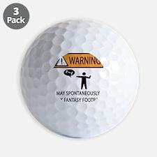 TALK FANTASY FOOTBALL Golf Ball