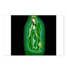 Our Lady of Guadalupe - Green Postcards (Package o