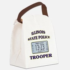 illinoisspplate Canvas Lunch Bag