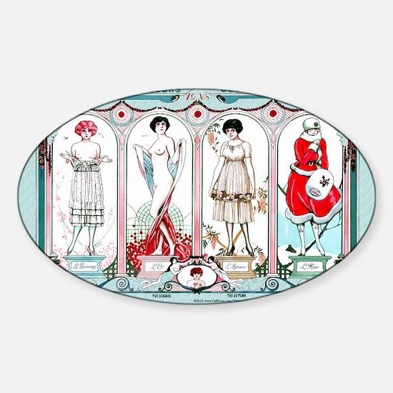 1 JAN FABIANO -Seasons MRG Sticker (Oval)
