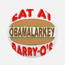 Eat at Barry Os 12 Round Ornament