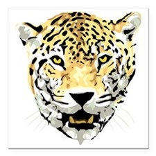"""On the prowl Square Car Magnet 3"""" x 3"""""""