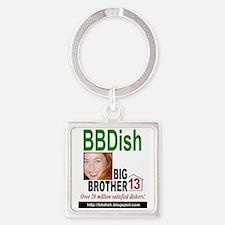 BBDish13 gr for light Square Keychain