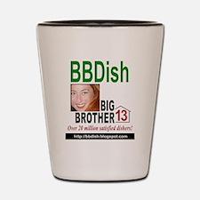 BBDish13 gr for light Shot Glass