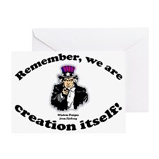 creationitselflawn Greeting Card