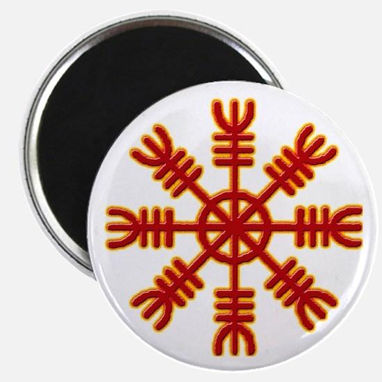 Flaming Helm Magnet