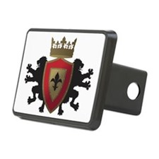 Medieval Lion Heraldry (Re Hitch Cover