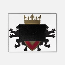 Medieval Lion Heraldry (Red + Gold) Picture Frame