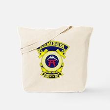 US Navy Security Group Activity KAMISEYA  Tote Bag