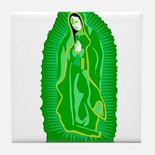 Virgen de Guadalupe - Light G Tile Coaster