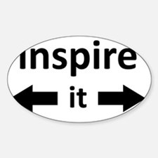 inspire it back and forward Decal