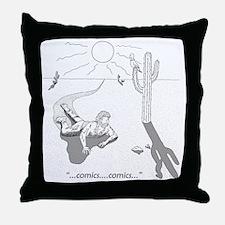 desertcomicsuse Throw Pillow