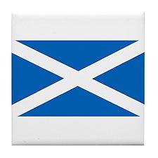 Flag of Scotland Tile Coaster