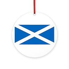 Flag of Scotland Ornament (Round)