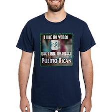 I like my Women like my Coffee-Puerto Rican T-Shirt