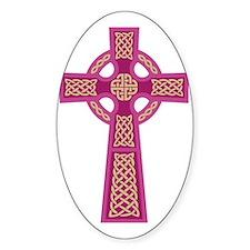 Celtic Cross (Pink) Decal