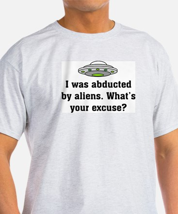 Abducted by Aliens 2 Ash Grey T-Shirt