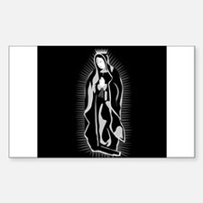 Virgen de Guadalupe Rectangle Decal