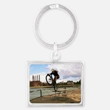 IMG_0830 red_out Landscape Keychain