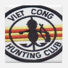cong huny club Tile Coaster