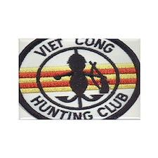 cong huny club Rectangle Magnet