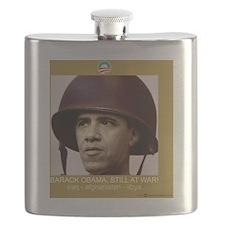 10x10_shirt_obama_war Flask