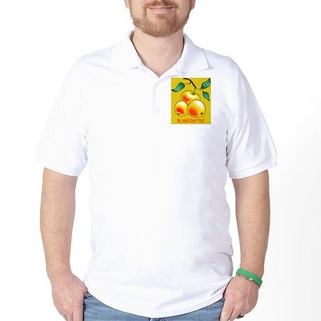 My seeds bear fruit design Golf Shirt