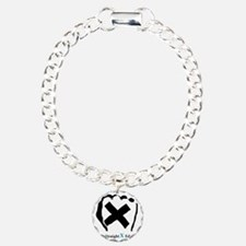 Straight Edge Closed Fis Bracelet