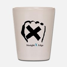 Straight Edge Closed Fist Shot Glass