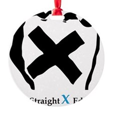 Straight Edge Closed Fist Ornament