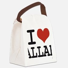 I LOVE ALLAH Canvas Lunch Bag