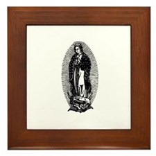 Vintage Lady of Guadalupe Framed Tile