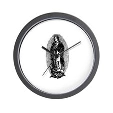Vintage Lady of Guadalupe Wall Clock