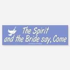 Spirit and Bride Bumper Bumper Bumper Sticker