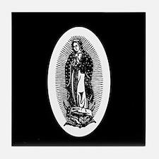 Vintage Lady of Guadalupe Tile Coaster