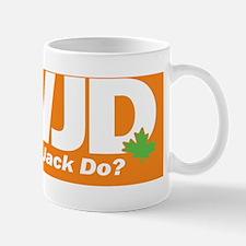WWJD-BS_orange Mug