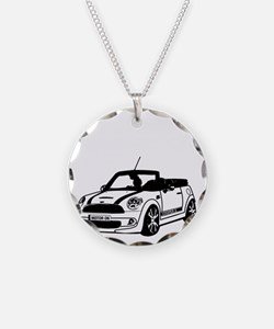 R52 Mini Convertible Outside Necklace Circle Charm