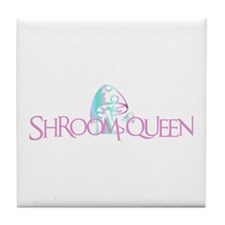Shroom Queen Tile Coaster