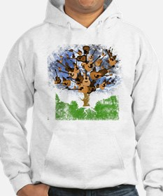 guitar tree color Hoodie