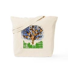 guitar tree color Tote Bag