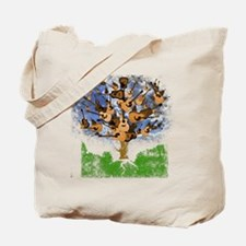 guitar tree color Tote Bag