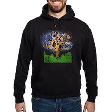 guitar tree color Hoodie