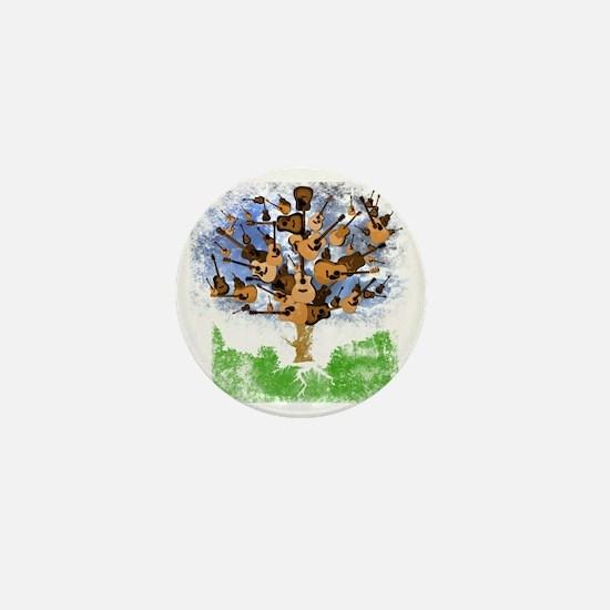 guitar tree color Mini Button